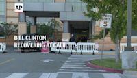 Hillary, Chelsea Clinton arrive at Calif. hospital