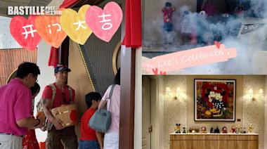 放炮仗慶祝新居入伙 吳尊為家人打造甜蜜之家 | 娛圈事