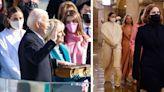 Joe Biden's Granddaughters Wear Chic Winter Coats to the Inauguration