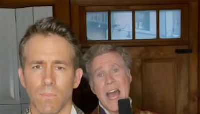 Ryan Reynolds and Will Ferrell Harmonize in Hilarious TikTok Singing Challenge