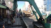 觀光熱區 水公司把握「人潮寒冬」汰換台東市中央市場管線