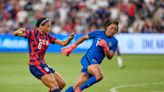 A US Soccer star who narrowly missed the World Cup used one stellar goal to make her case for a spot at the Olympics