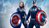 Captain America Art Imagines a Live-Action Captain Carter Team Up