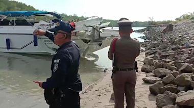 Two children killed and 20 tourists injured in Thai speedboat crash