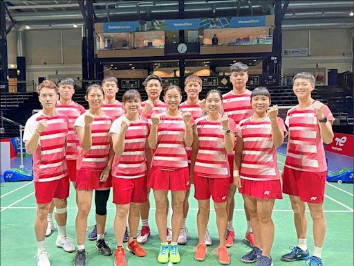 蘇迪曼盃》5點皆直落二 台灣隊開胡 - 自由體育