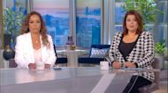 'The View' hosts test positive for COVID before Kamala Harris interview