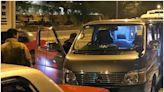 警港島放蛇打擊貨Van非法載客取酬 兩司機被捕
