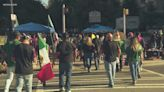 Fans flood into Uptown to tailgate ahead of Mexico vs. Ecuador soccer game