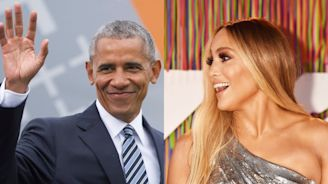 The Obamas Are Just as Excited About Jennifer Lopez's Engagement as You Are