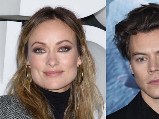 Here's What Olivia Wilde Thinks of Photos of Harry Styles Making Out With Another Actress