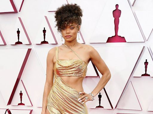 Andra Day's Sexy Metallic Oscars Gown Is a Tribute to Billie Holiday: 'She Loved Lingerie'