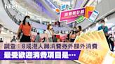 【5000元消費券】調查:8成港人願消費券外作額外消費 最受歡迎項目是…… - 香港經濟日報 - 理財 - 精明消費