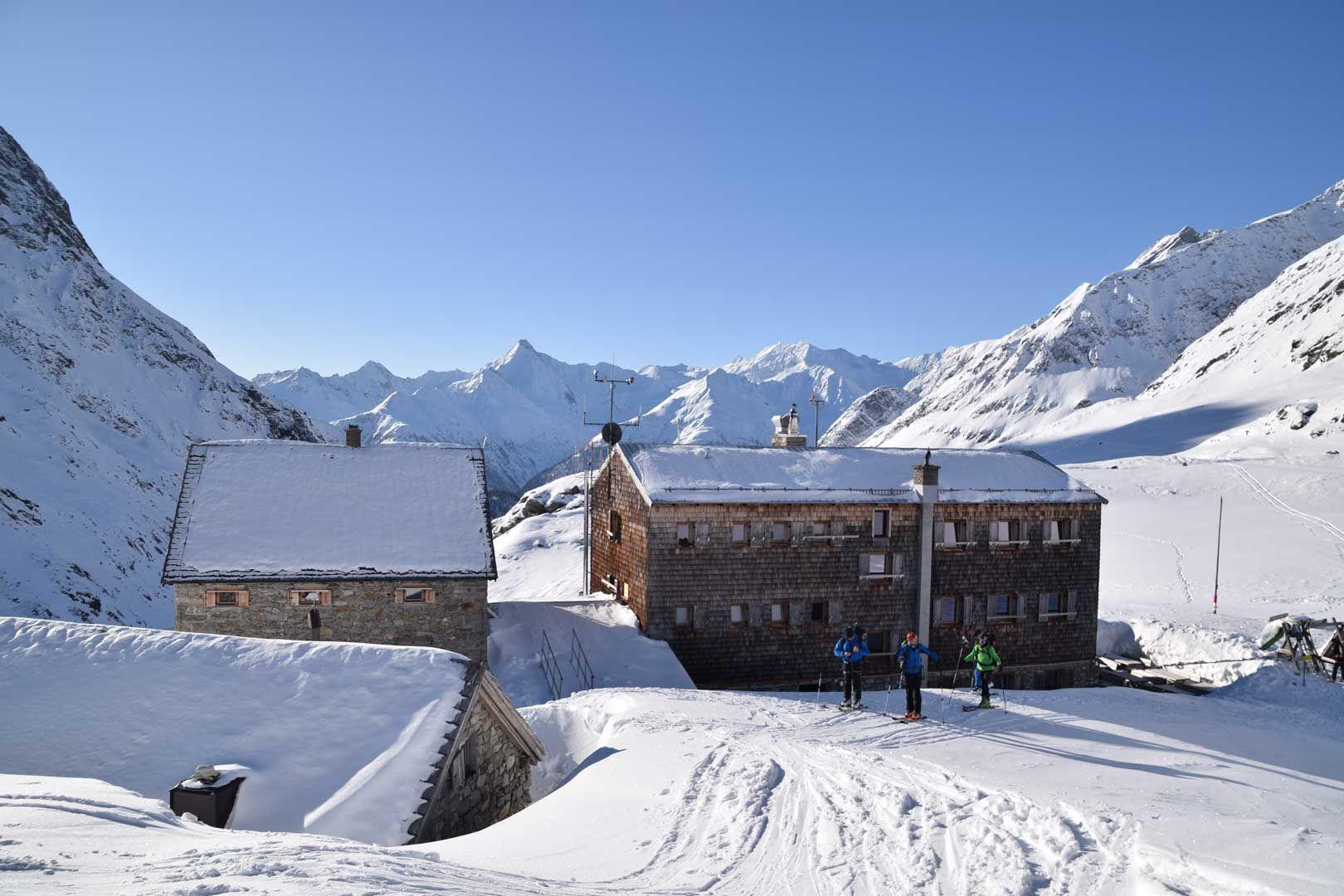 Skitour Essener Rostocker Hütte von Ströden