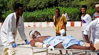 11 killed, 25 hurt as explosions rock Somalia's capital