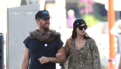 Dakota Johnson and Chris Martin Take Their Love to Spain in Rare Sighting