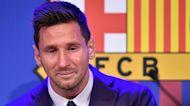 Watch: Soccer star Lionel Messi bids emotional farewell to Barcelona club