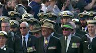 Australia and New Zealand honor military