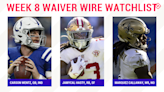 Fantasy Football Waiver Wire Watchlist for Week 8: Streaming targets, free agent sleepers include Carson Wentz, JaMycal Hasty, Marquez Callaway