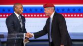 New York's mayoral candidates trade barbs and compliments