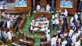 Govt to move suspension notice against 10 Lok Sabha MPs for throwing papers, tearing placards at Chair