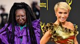Whoopi Goldberg reacts to Barbara Corcoran's apology after fat joke
