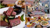 網美打卡必衝!台中「人氣餐酒館」美拍少女系裝潢,炭烤牛排配特製醬超對味