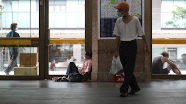 台北車站街友確診 3人住院5人防疫旅館隔離