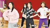 打頭陣撼ViuTV口罩小姐 朱晨麗劉佩玥鄧佩儀瞓身練舞 - 20210409 - 娛樂