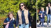 Jennifer Garner All Smiles While Out & About In Santa Monica With Son Samuel: Photos