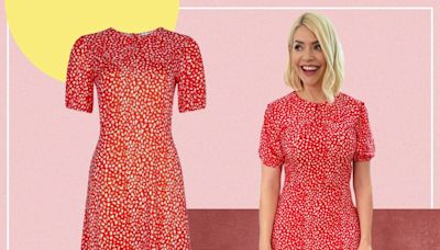 Holly Willoughby's summer-ready dress is another high street hit – and it's on sale