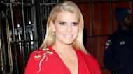 Jessica Simpson Goes Pantless for Pandemic Date Night