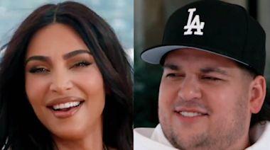 Rob Kardashian Returns to KUWTK to Celebrate Kim Kardashian's Best On-Camera Moments