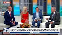 Lindsey Graham slams the Biden administration for 'self-inflicted' foreign and domestic fumbles