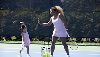Serena Williams Wasn't Excited to Send Olympia, 3, to Tennis Lessons: 'We Started Because It's Socially Safe'