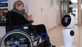 Belgian video-calling robots to keep elderly connected during coronavirus