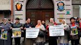 Bosnian war survivors protest Peter Handke's Nobel prize win