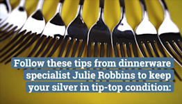This Is My First Holiday Season Using My Brand-New Silver, So I Got an Expert's Care Tips