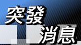 吐露港公路兩車禍 貨車司機險撞3交通警