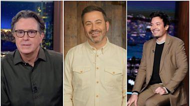 Late-Night Laughs: Inside The Ratings Battle Among Colbert, Kimmel & Fallon