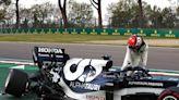 Tsunoda's gearbox broke in half in Imola F1 qualifying crash