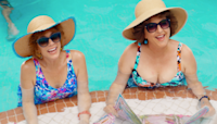 Kristen Wiig and Annie Mumolo Reunite in 'Barb and Star Go to Vista Del Mar' Trailer (Exclusive)
