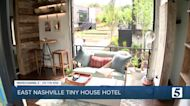 Tiny house hotel Ironwood Grove opening in East Nashville on Riverside Drive