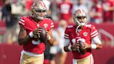 Jimmy Garoppolo returns to 49ers practice, Trey Lance sits out
