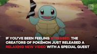 Relax with Squirtle in this official Pokémon ASMR video