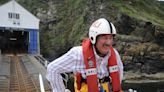 John Challis photos show late star living childhood dream with lifeboat launch
