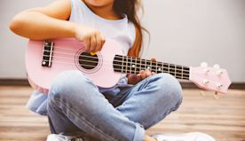Pint-Sized Ukuleles For Kids Showing an Early Interest In Music