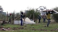 Authorities demolish 'illegal' shacks erected in South Africa