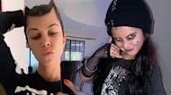 Kourtney Kardashian Shares Daughter Penelope's Goth Halloween Look