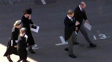 皇夫葬禮|刻意墮後促成威廉哈里談話 英媒讚凱蒂擔當破冰中間人 | 蘋果日報
