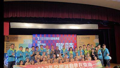 南市獎牌數創紀錄 黃偉哲接旗歡迎選手2023再戰台南
